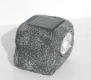 Veilleuse solaire sur tombe