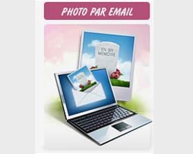Recevez une photo par email